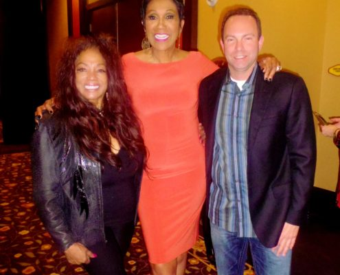 Linda Griner, Pointer Sister Ruth Pointer. Broker Scott Beaudry President of Greater Las Vegas association of Realtors.